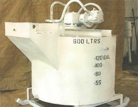 Mixing tank 120 gallon (600 litre) capacity to hire