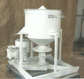 Colloidal Mixing Tanks to hire